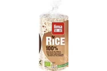 Biologische Rijstwafels Met Zout (Lima, 100 gram)