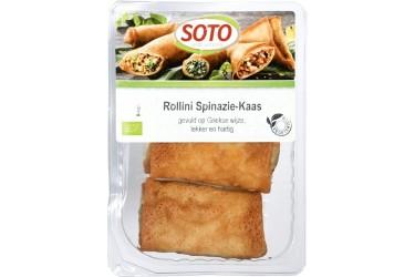 Biologische Rollini Kaas Spinazie (Soto, 150 gram)