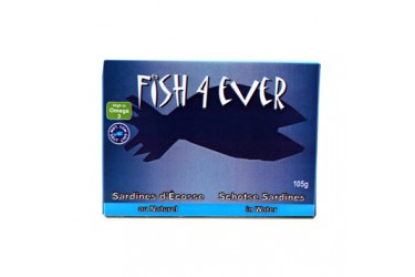 Sardines in Bronwater (Fish4Ever, 105 gram)