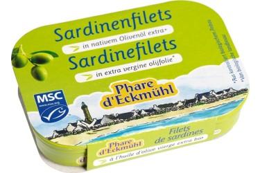 Sardines in Olijfolie Voordeelverpakking (Phare d'Eckmuhl, 14 x 100 gram)