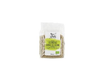 Biologisch Sesamzaad Ongepeld Voordeelverpakking (Nice&Nuts, 6 x 500 gram)
