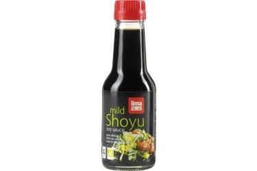 Biologische Shoyu mild Voordeelverpakking (Lima, 6 x 145 ml)