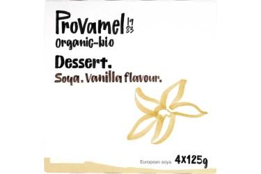 Biologische Sojadessert Vanille (Provamel, 4 x 125 gram)