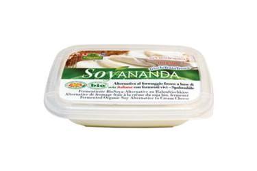 Biologische Vegan Roomkaas Naturel (Soyananda, 140 gram)