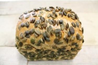 Biologische Speltbrood 100% Bus Pompoen GESNEDEN (Biobakker Van Esch, 500 grams)