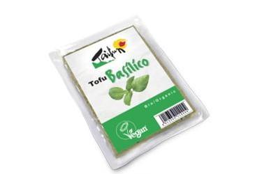 Biologische Tofu Basilicum (Taifun, 200 gram)
