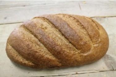 Biologische Tarwe Vloerbrood Gist GESNEDEN (Biobakker Van Esch, 600 grams)