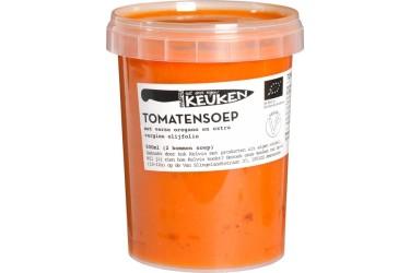 Biologische Tomatensoep met oregano VERS (Marqt, 500 ml)