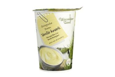 Biologische Vanillekwark (Weerribben Zuivel, 500 ml)