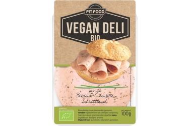 Biologisch Broodbeleg Vegan Plakjes Bieslook (Vegan Deli, 100 gram)
