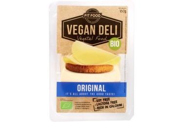 Biologisch Broodbeleg Vegan Plakjes Original (Vegan Deli, 100 gram)