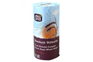 Biologische Beschuit Volkoren (Ekoland, 125 gram) OP=OP
