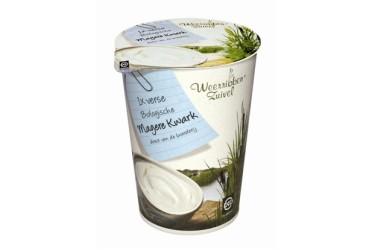Biologische Kwark Mager (Weerribben Zuivel, 500 ml)