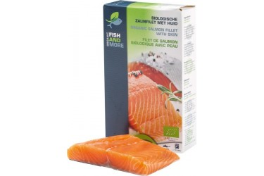 Biologische Zalmfilet (Fish and More, 200 gram) OP=OP