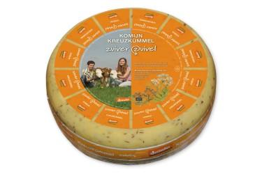 Biologische Kruidenkaas Komijn Demeter (Zuiver Zuivel, 400 gram)